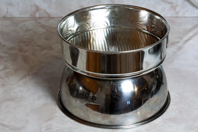 Spring form pan