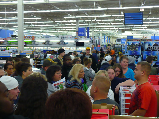 Walmart on Black Friday 2009