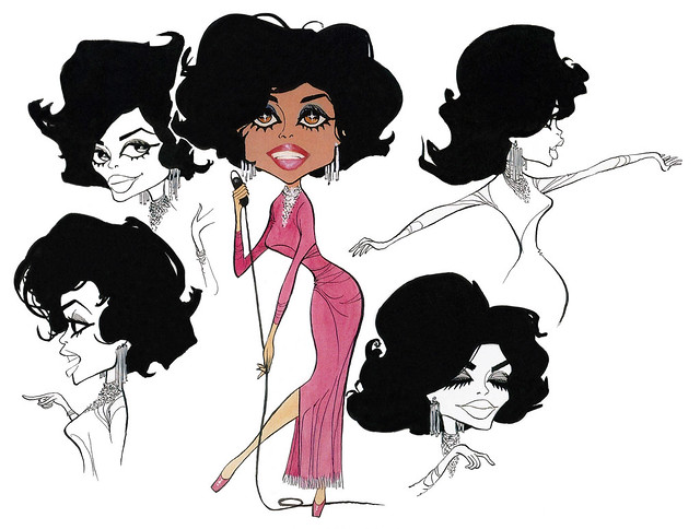 Diana Ross Model Sheet