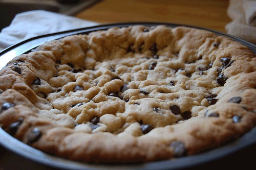 chocolate chip cookie pie crust | Flickr - Photo Sharing!
