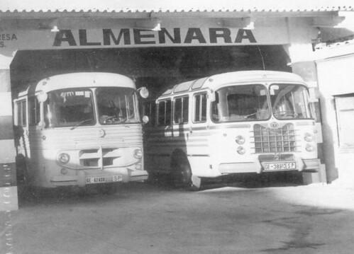 Autocars Pegaso Monotral i Nazar de l'empresa AUTOCARS ALMENARA de Salt (Gironès)