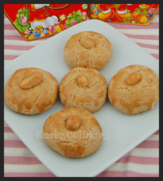 Chinese Peanut Cookie 2010