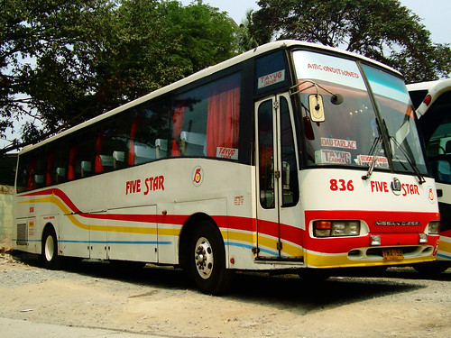 Five Star Bus Company, Inc. - Nissan Diesel SR Exfoh - 836