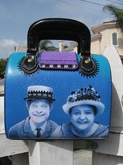 Silent Film Purse, back by pennylrichardsca (now at ipernity)