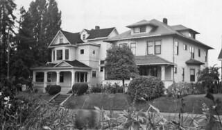 Houses on 30th Avenue S. near King Street, 1957