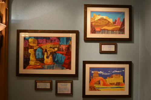 The Colors of Mary Blair Exhibit at the Disney Gallery