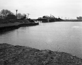 Big Tarkio Bridge washout on Missouri Route 111 (MSA)