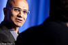 Satya Nadella, Eric Savitz by Gigaom Events