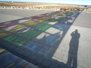 rainbow shadow
