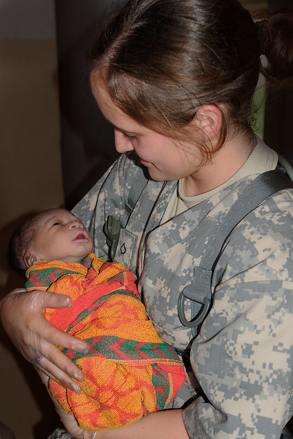 Army Reserve Nurse Delivers Baby in Rural Uganda - United States Army Africa - Natural Fire 10 - AFRICOM