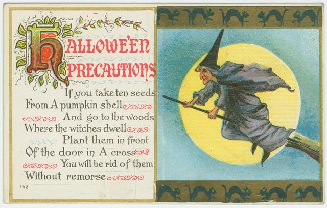Hallowe'en precautions.