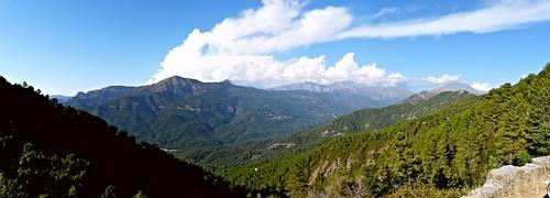 sky france nature skyline clouds montagne corse corsica panasonic ciel nuages maquis île méditerrannée