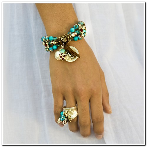 Arcobalena beaded designer jewelry Fame collection ...