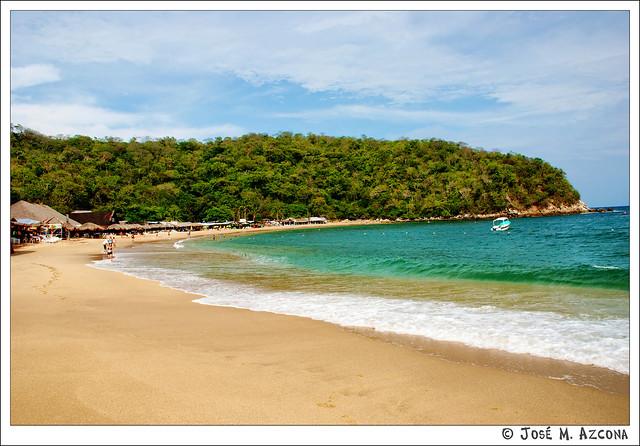 Mexico. Huatulco. Bahía de Maguey.