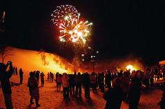 Niseko Fireworks