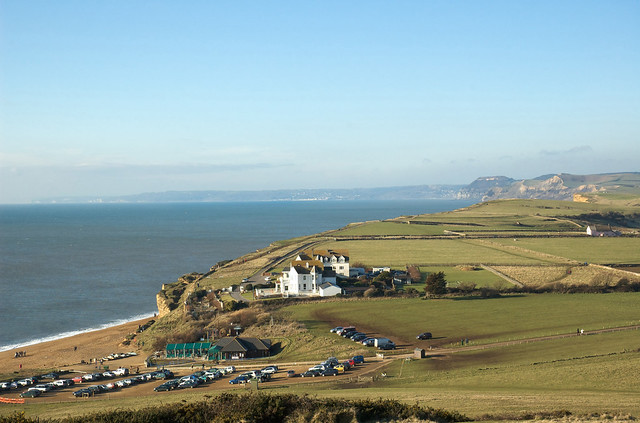 View FROM Burton Bradstock