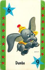 1964 Disneyland Card Game by Whitman