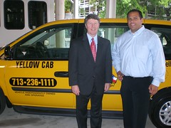 Harris County Judge Ed Emmett &  Yellow Cab Houston Taxi Company