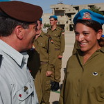 Lt. Gen. Gabi Ashkenazi Congratulates New Officer