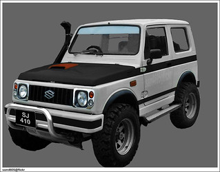 Suzuki Jimny SJ410 Modification
