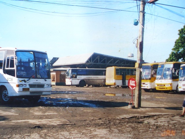 Ceres Liner buses at Ceres Liner Terminal, Iloilo City ...
