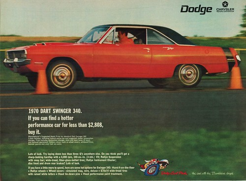 1970 Dodge Dart Swinger 340 2-Door Hardtop