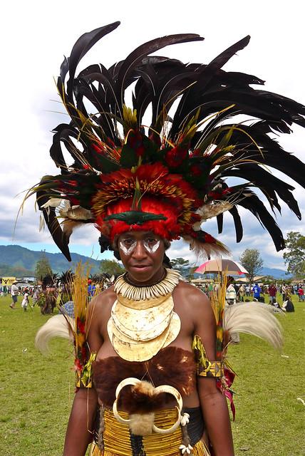 Papua New Guinea - Goroka - Festivity of Independence