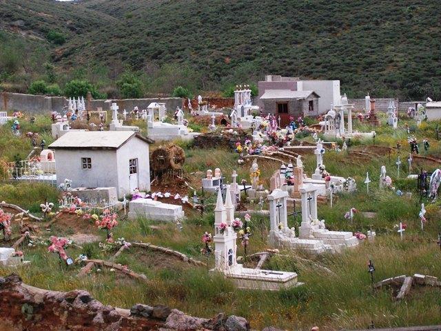 Zacatecas - De la mina al cementerio