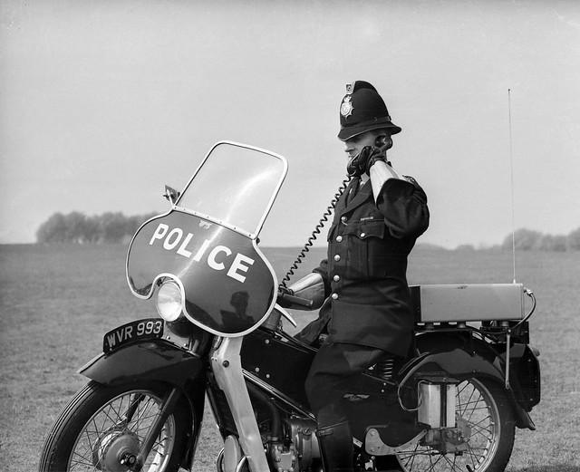 1960s Velocette Rider