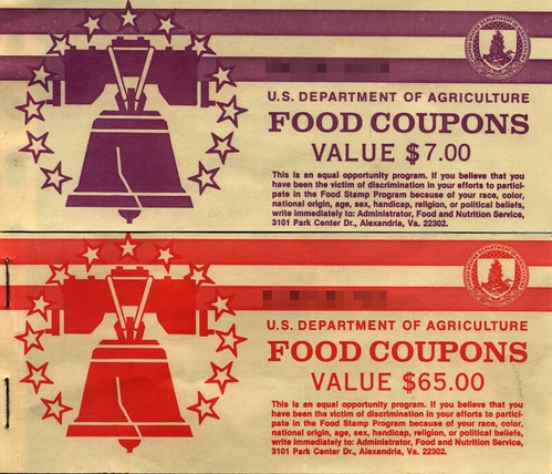 Food Stamps (photo: ncreedplayer/flickr)