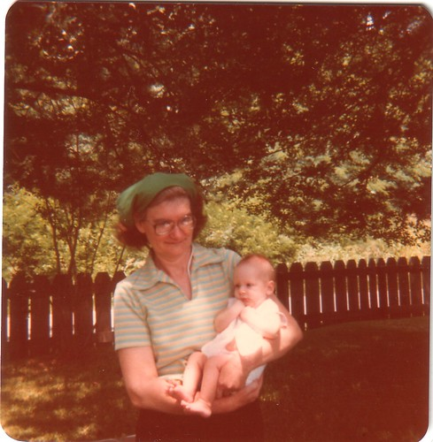 Memaw Bane and Erica July 4, 1979