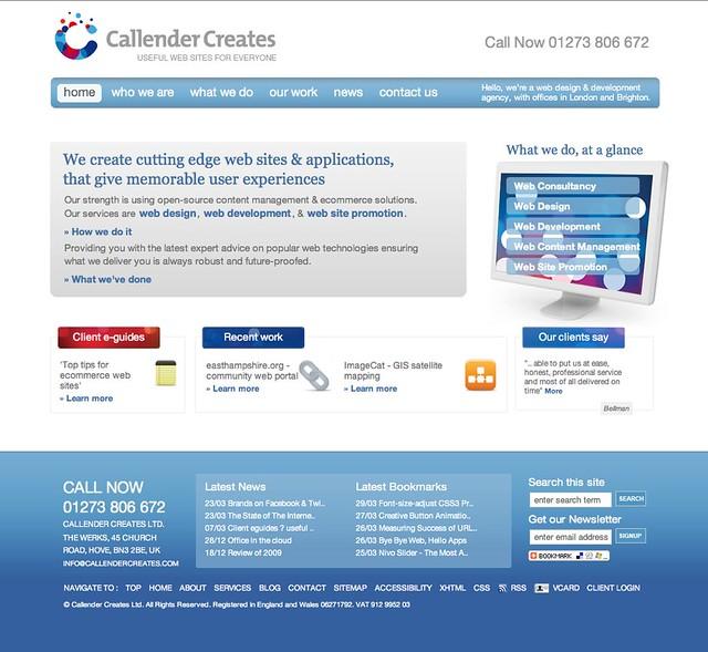website design and development london
