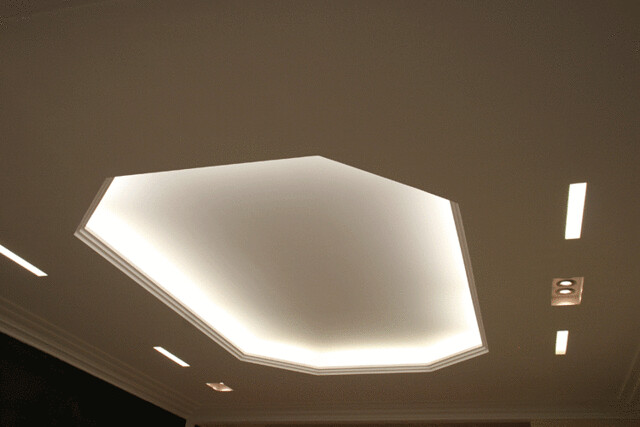Faux plafond en staff avec clairage indirect flickr photo sharing - Eclairage faux plafond ...