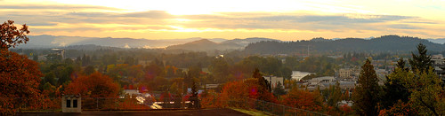 panorama oregon sunrise project butte looking pacific northwest east eugene valley 365 willamette photostitch skinners huggin project365