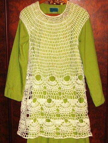 Free Crochet Pattern Tunic Vest : FREE CROCHET TUNIC PATTERN - Crochet and Knitting Patterns