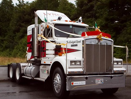 Kenworth truck Weddingmobile