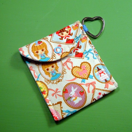 Pretty Kawaii Girl Card Case