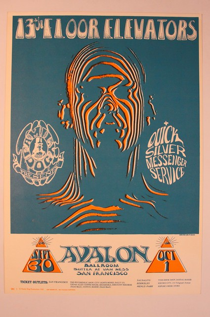 13th floor elevator avalon 1966 flickr photo sharing for 13th floor elevators sign of the 3 eyed men