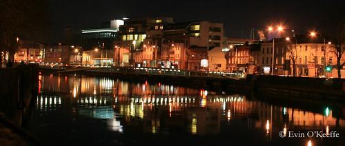 Cork City Quays at Night