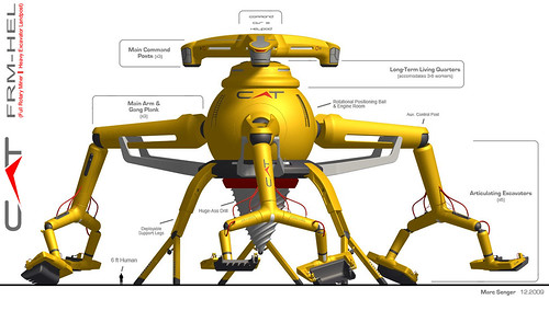 Caterpillar FRM-HEL (from Hell) Full Size Excavator Summary by interpolactic