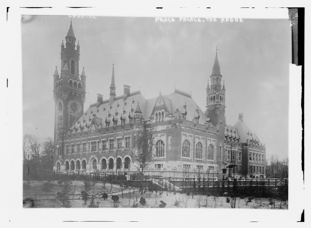 Peace Palace - the Hague  (LOC)