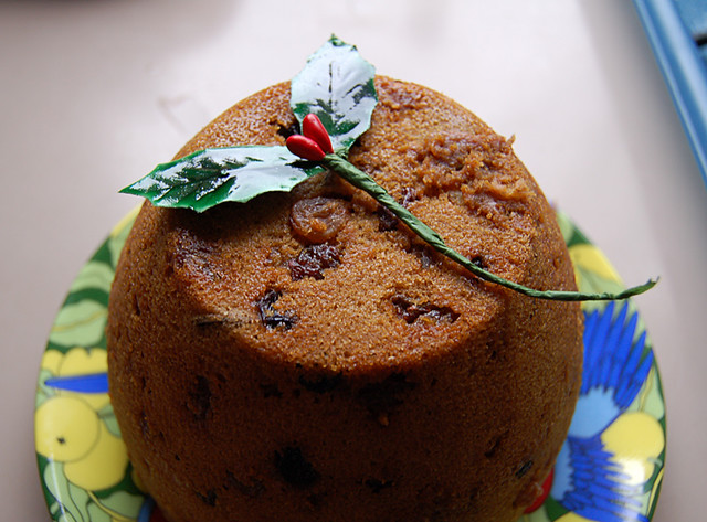 The Christmas pudding