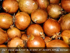 Onions at Adam's Apple