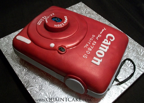 Camera Images For Cake : Canon Camera Cake - a photo on Flickriver