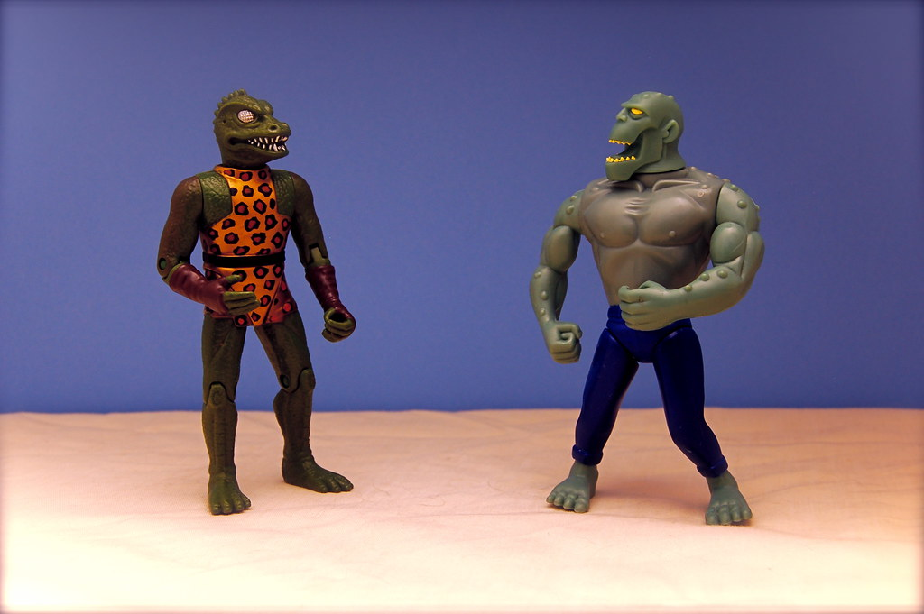 The Gorn vs. Killer Croc (27/365)