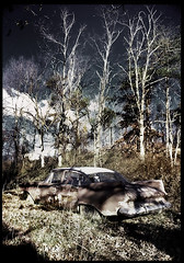 Abandoned Car, East Kentucky, USA.