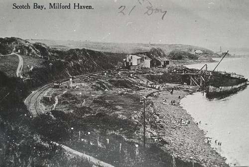 Scotch bay, Milford haven