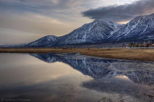 mountain snow reflection nature landscape nevada carsonvalley colorphotoaward nikond90 singleshothdr