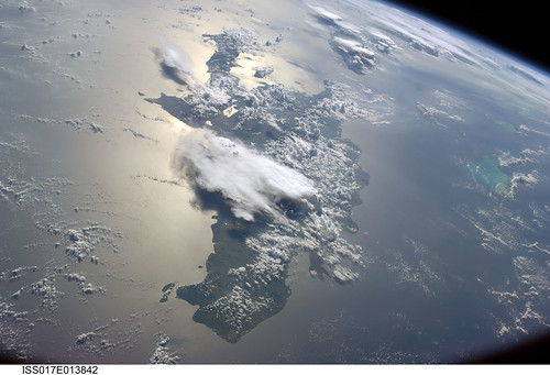 Haiti and the Greater Antilles (NASA, International Space Station Science, 08/19/08)