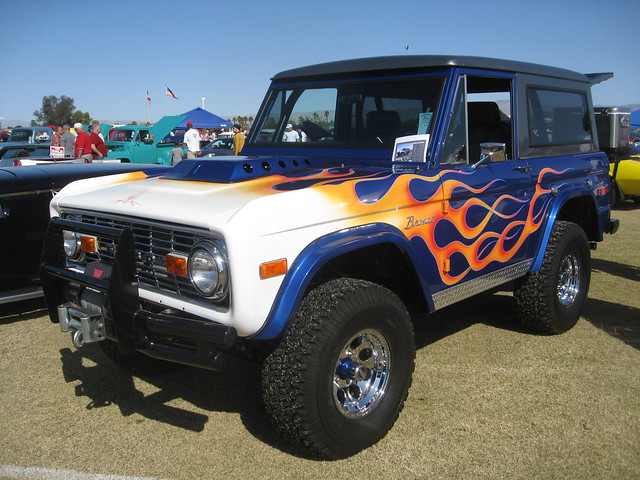 ford bronco pimped out. Black Bedroom Furniture Sets. Home Design Ideas